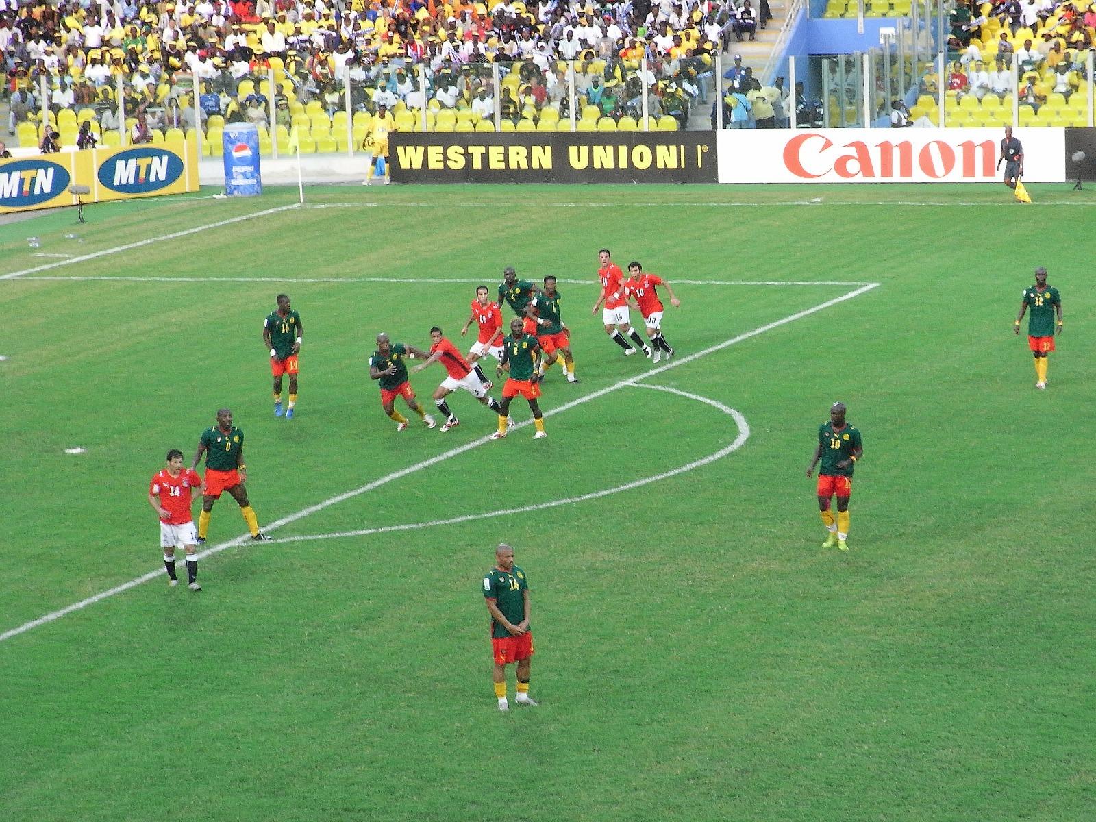 Durant la Coupe du monde, les journalistes camerounais n'auront d'yeux que pour les Lions indomptables (Crédit photo : hiroo, Flickr/CC)