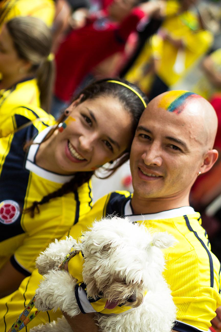 Couple Match Colombie-Côte d'Ivoire