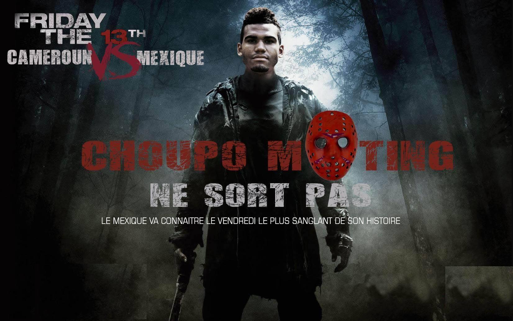 L'affiche Choupo Moting ne sort pas de Maahlox.