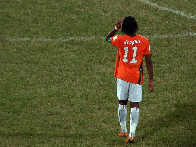 Didier Drogba devrait disputer au Brésil son troisième et dernier Mondial (Crédit photo : Jake Brown, Flickr/CC)