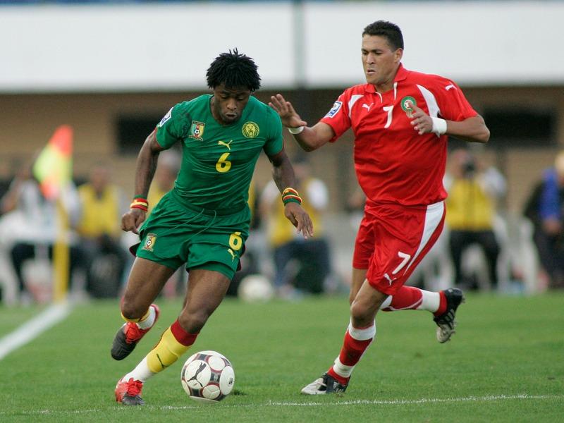 Alex Song fait partie des 23 Camerounais retenus pour la Coupe du monde (Crédit photo : mustapha_ennaimi, Wikimedia Commons)