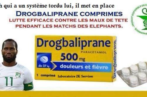 Article : SUR LE NET : Découvrez la boîte à pharmacie des Eléphants de Côte d'Ivoire