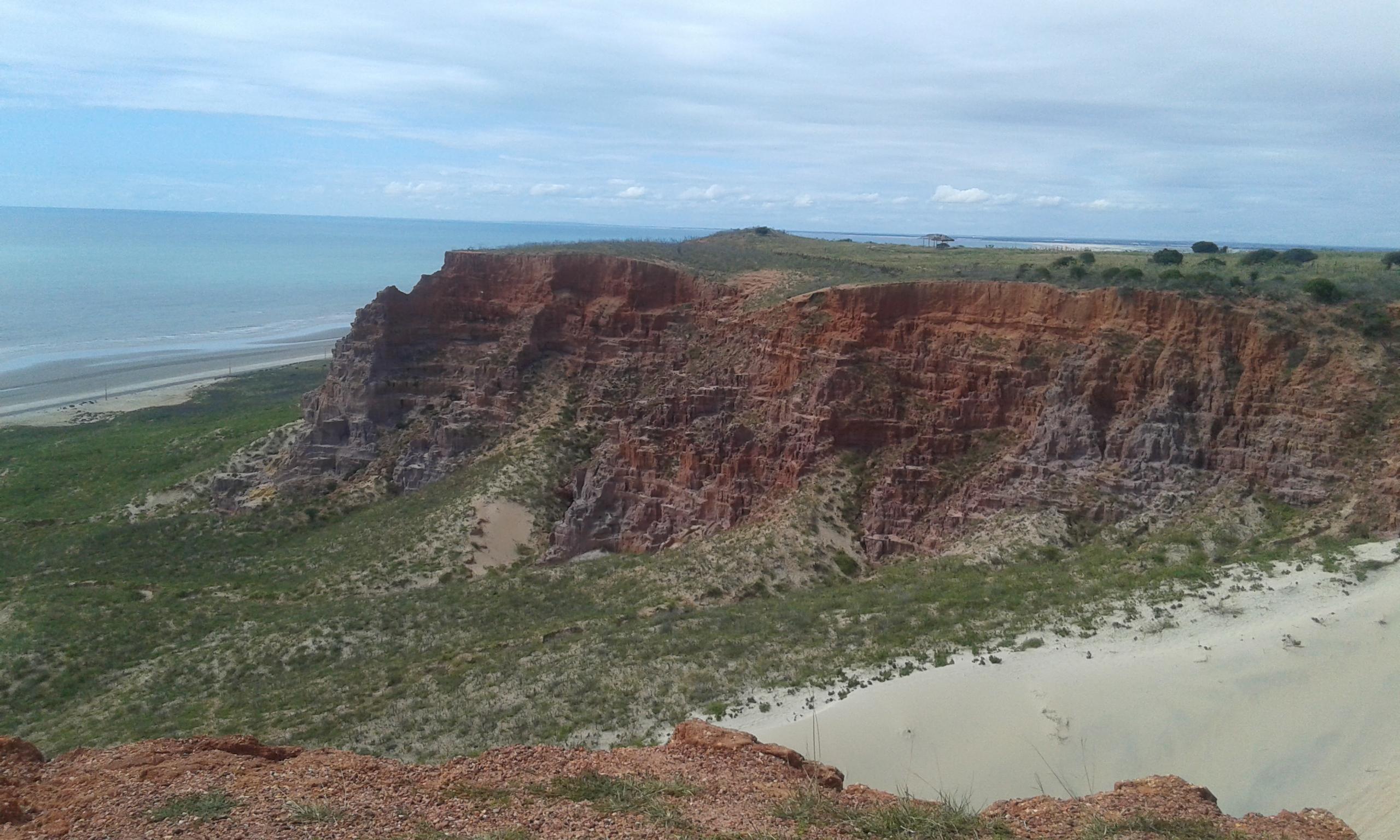 La Pointe du Miel à Areia Branca. (Crédit photo: Fabio Santana).