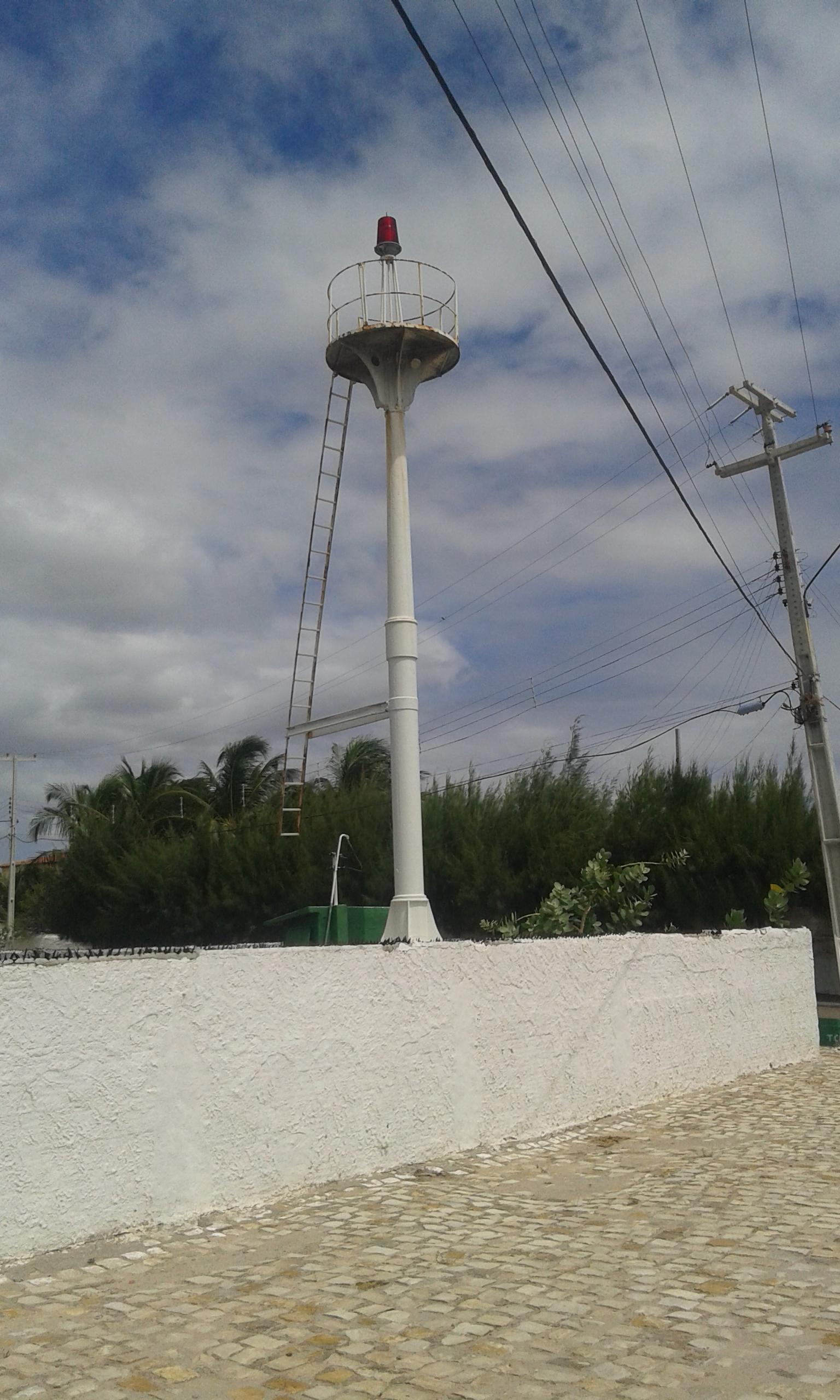 Le phare militaire de la ville Areia Branca. (Crédit photo: Fabio Santana).