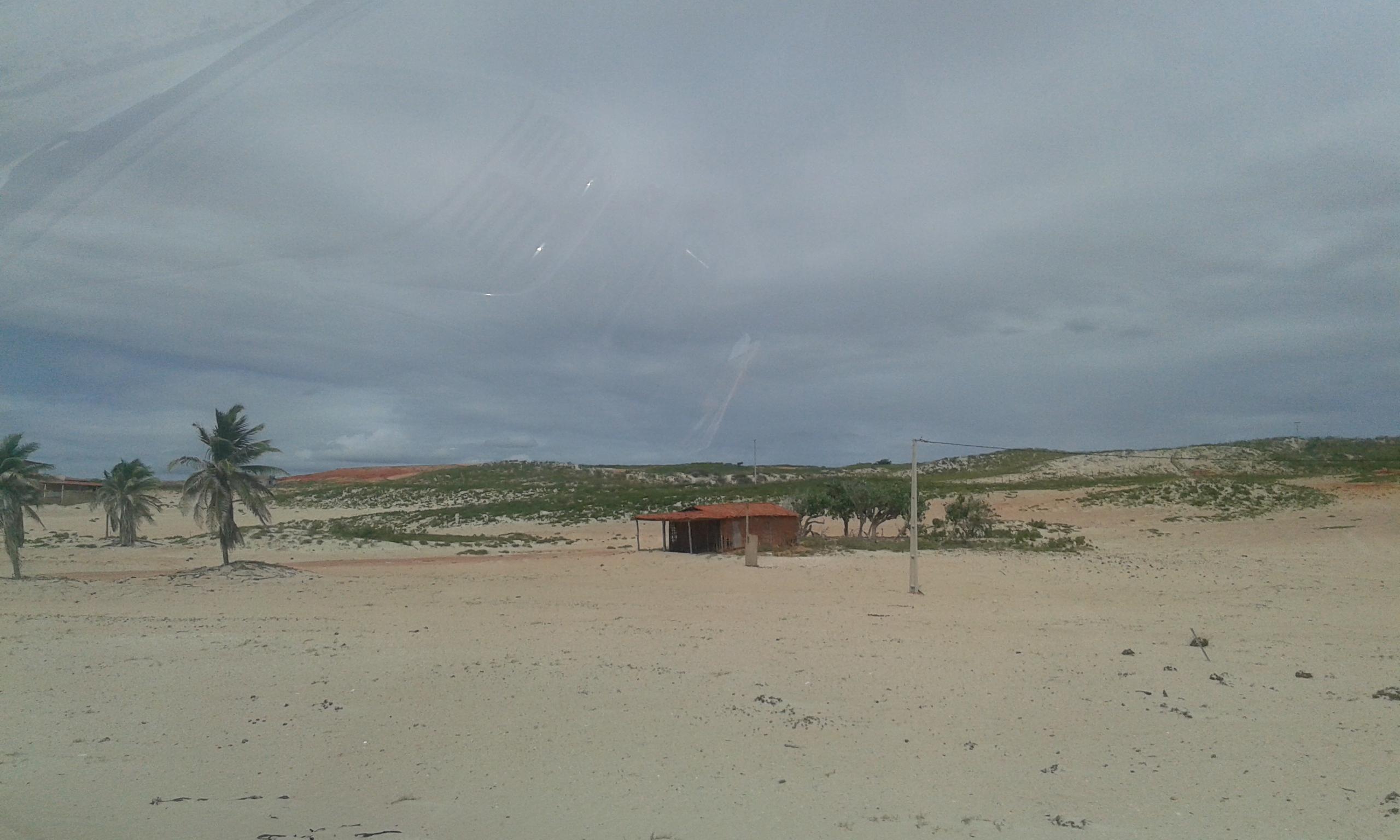 La vue des dunas du rosé à Areia Branca. (Crédit photo: Fabio Santana).
