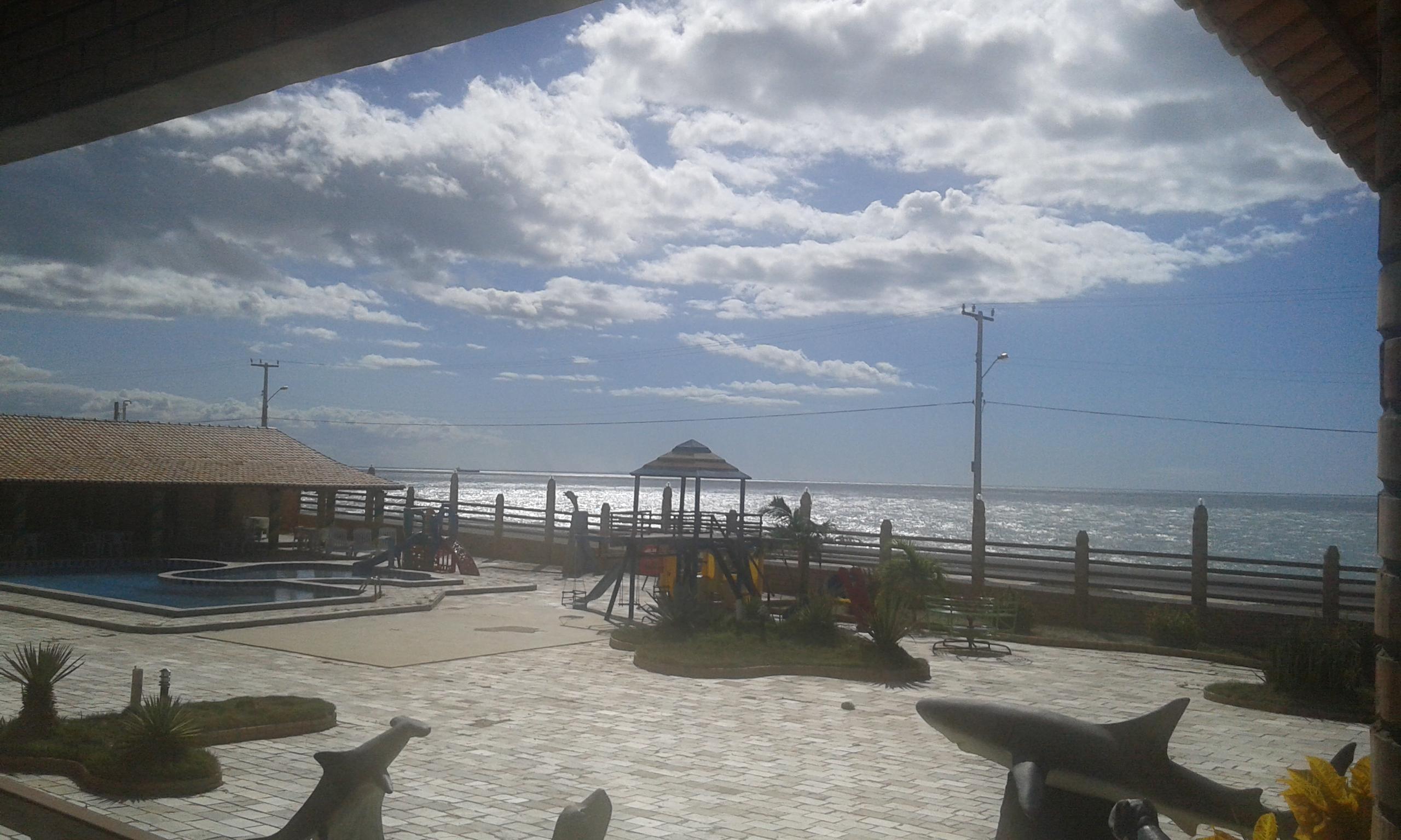 Le secteur de loisir d'hôtel Costa do Atlàntico qui devra être plein de gens durant le match Brésil -Chili pour les huitièmes de finale. (Crédit photo: Fabio Santana).