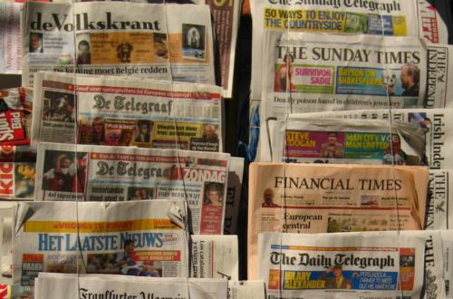 Article : Médias : revue de presse internationale après le premier tour