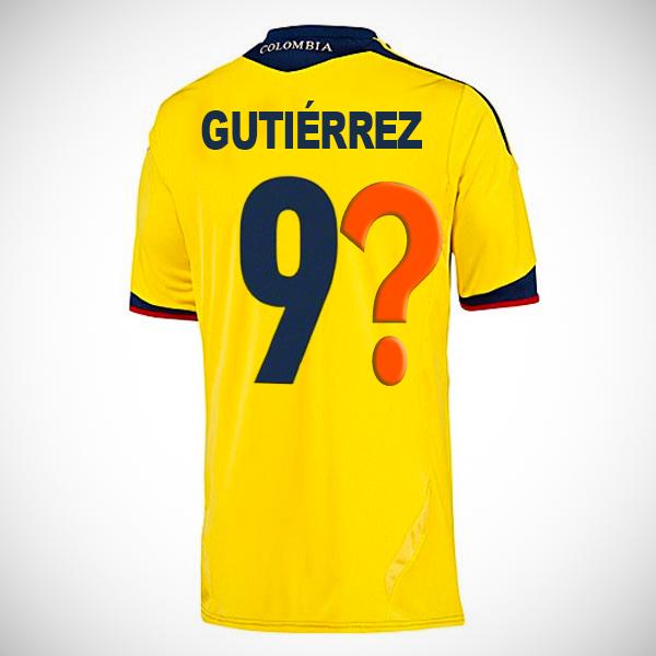 Le journal Semana a suscité une polémique à propos du maillot n°9 attribué à Teófilo Gutiérrez...