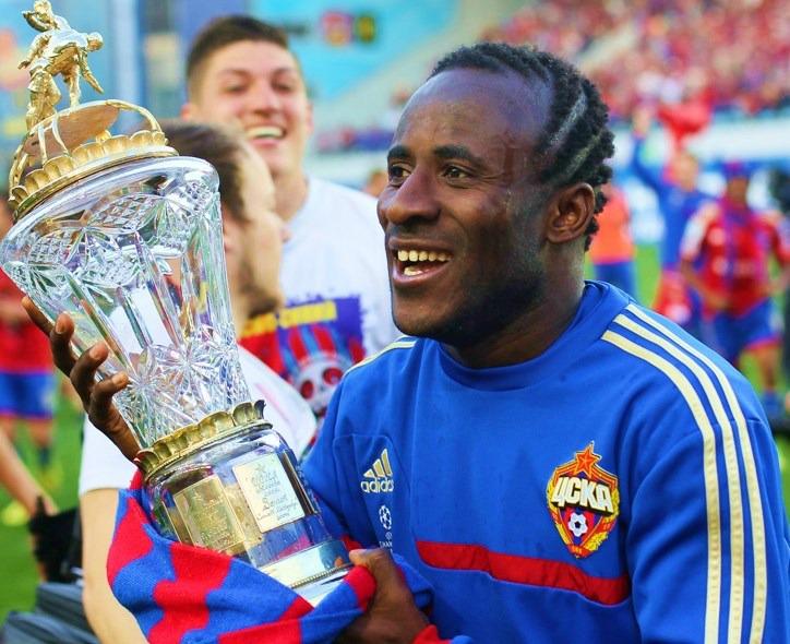 Seydou Doumbia (ici sous les couleurs du CSKA Moscou) a été recalé aux portes de la Coupe du Monde (Crédit photo : Дмитрий Садовников, Wikimedia Commons)
