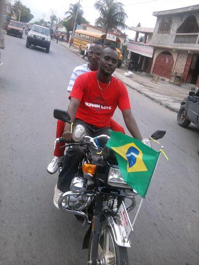 Un fan du Brésil