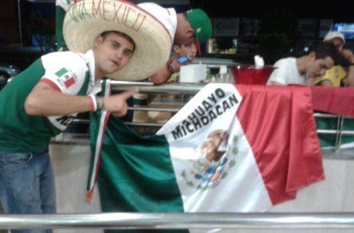Article : Avant de s'affronter, Brésiliens et Mexicains célèbrent la victoire du Brésil !