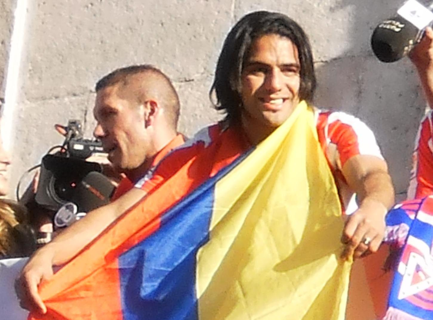 Cette fois, Radamel Falcao ne sera pas de la partie - Photo Juanca Parce - Wikimedia