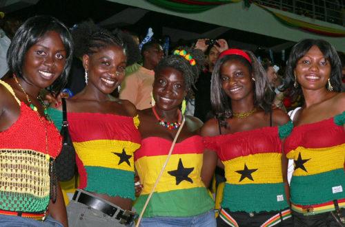 Article : GHANA : Les supporters ghanéens mettent le feu à Natal !