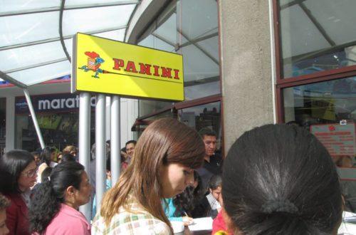 Article : PANINI : Brésiliens et Colombiens touchés par la collectionnite aiguë !