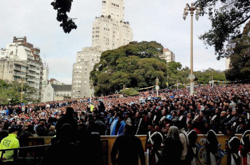 Article : ARGENTINE : A Buenos Aires, le Mondial en doudoune!