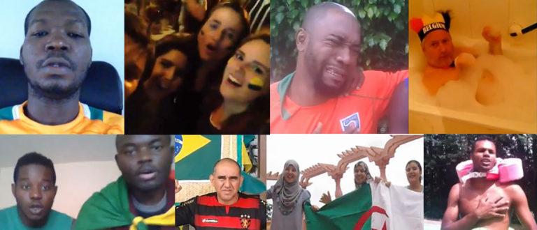 Article : CONCOURS : Elisez la meilleure vidéo de supporteur du Mondial !