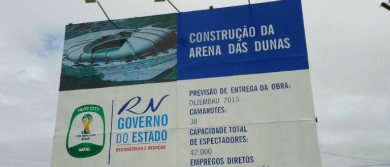 Article : Brésil : Natal s'inquiète de l'avenir de son stade