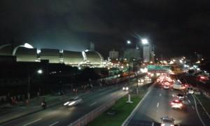 Allemagne (7-0) - Le stade Arena des Dunas. Il est un Carte Postale de Natal. Il a accueilli 4 matchs de foot dans la coupe du monde du Brésil. (Crédit photo: Fabio Santana).