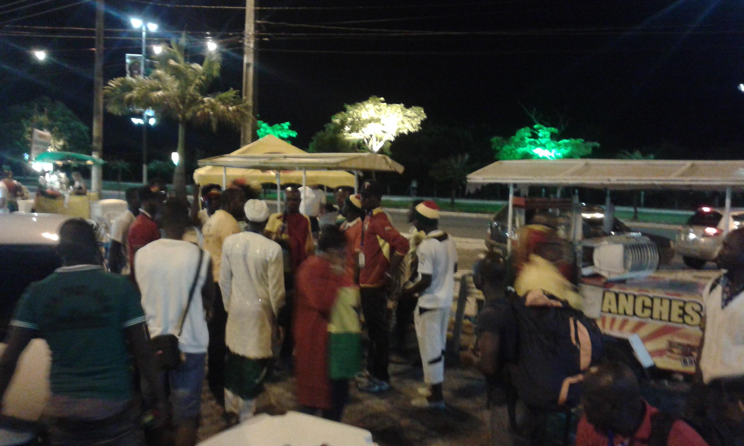 Le lieu était un agréable point de rendez-vous pour le peuple de natal et touristes. (Crédit photo: Fabio Magno).