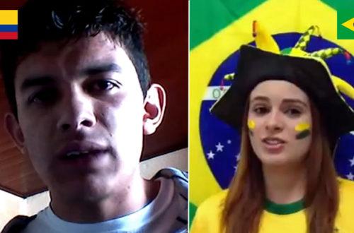 Article : Colombien VS Brésilienne : Le duel des supporteurs !