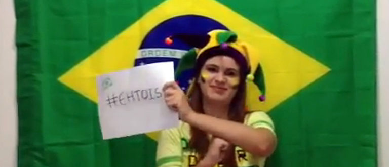 Article : VIDEO : Pourquoi le Brésil va gagner selon notre Brésilienne !