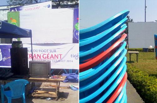 Article : RDC : à Goma, le match… des écrans géants !