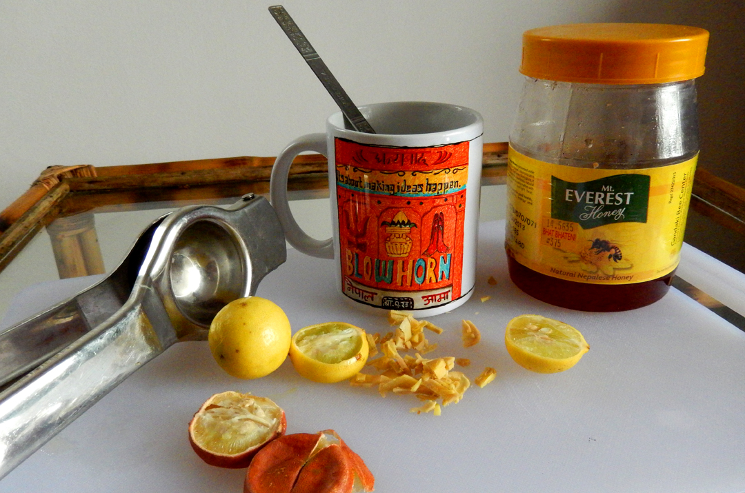 Hot Lemon/Honey with Ginger