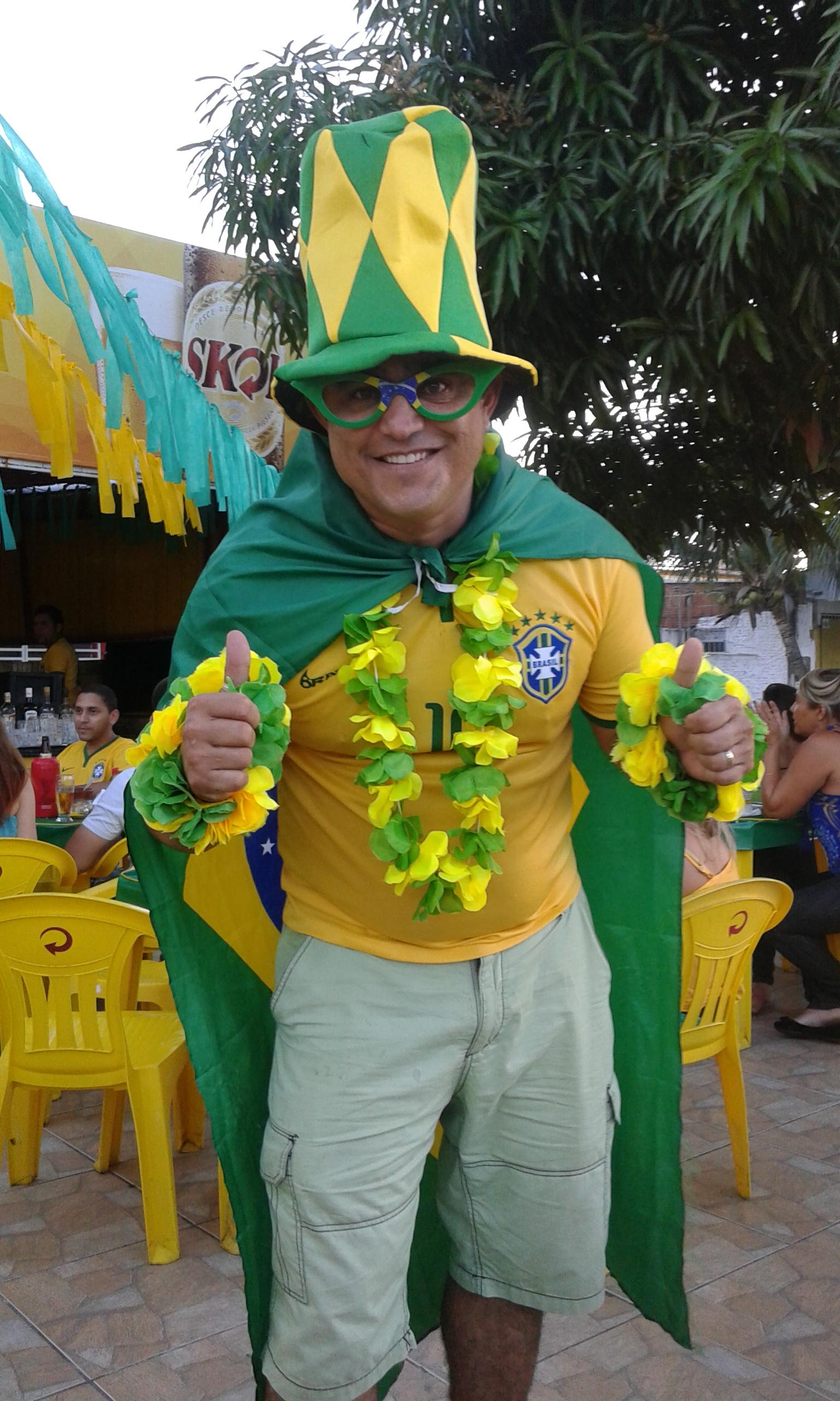 supporter brésilien Neópolis Natal 2014
