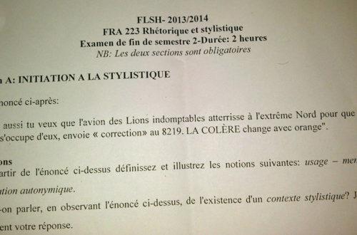 Article : Quand la débâcle du Cameroun s'invite aux examens académiques
