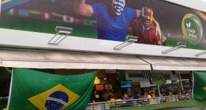 Allemagne (1-0) - Le Centre-Commercial Cidade Jardim, le plus ancien de Natal. Il a reçu les supporters des équipes qui ont joué à Natal. (Crédit photo: Fabio Santana).