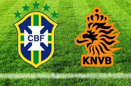 Article : Brésil – Pays-Bas : » Le Brésil a de la chance de finir 4ème»